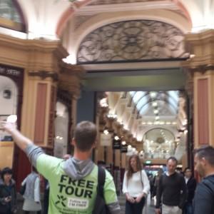 'Melbourne Sights' Tour - The BLock Arcade