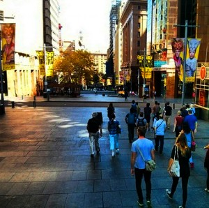 'Sydney Sights' Tour - Martin Place, business district