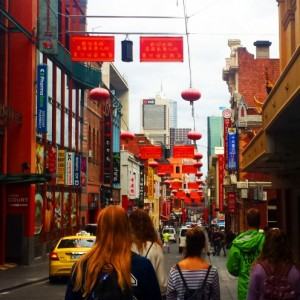 'Melbourne Sights' Tour - China Town