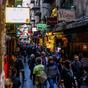 'Melbourne Sights' Tour - Centre Place / Degraves St