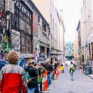 'Melbourne Sights' Tour - Hosier Lane