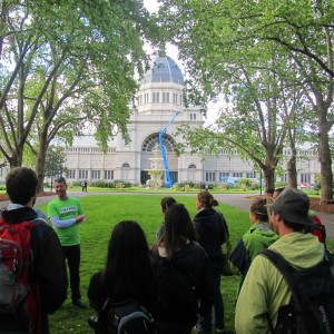'Melbourne Sights' Tour - Calton Gardens / The Royal Exhibition Centre