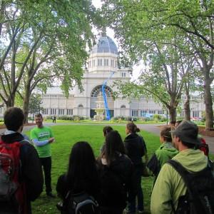 'Melbourne Sights' Tour - Calton Gardens / The Royal Exhibition Centre