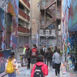 'Melbourne Sights' Tour - Lane way Art
