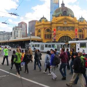 'Melbourne Sights' Tour - Flinders Street Station