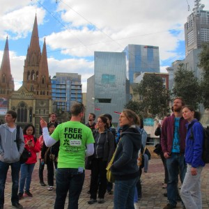'Melbourne Sights' Tour - Federation Square